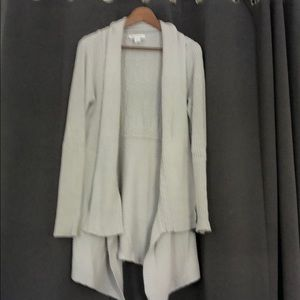 Whbm light grey sweater